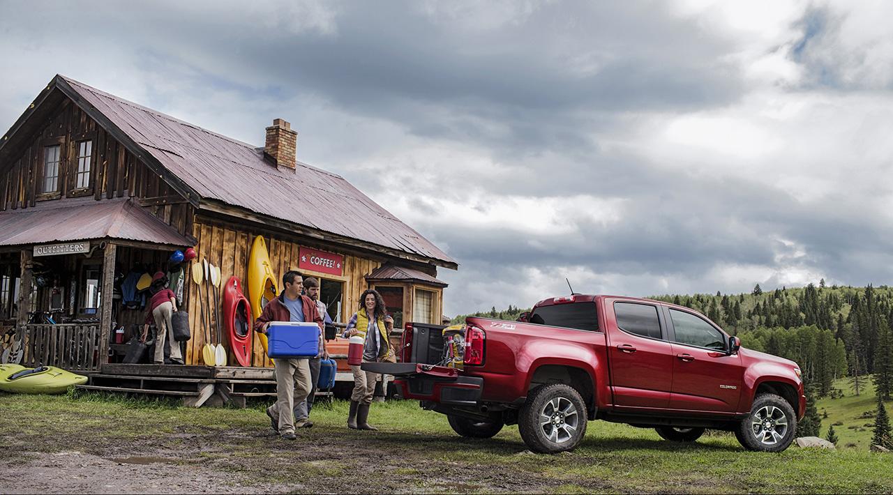 Chevrolet Colorado 2015 foto - 3