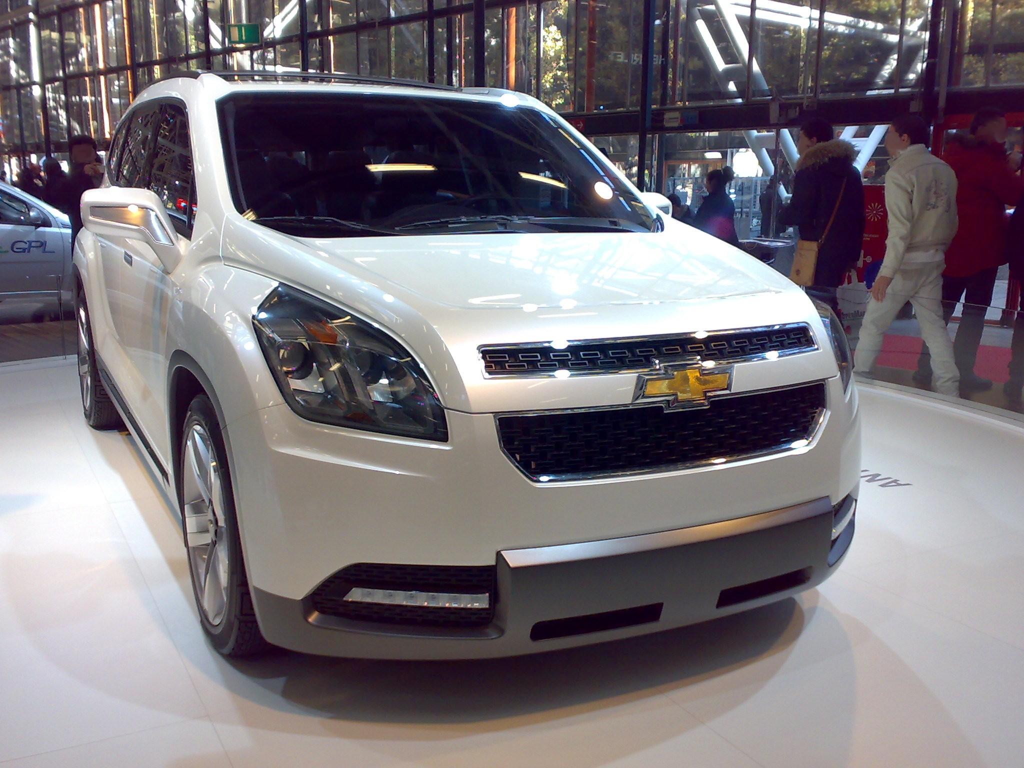 Chevrolet Concept 2015 foto - 3