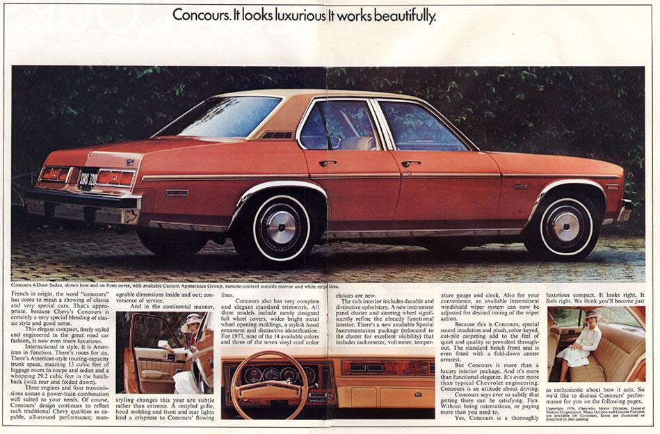 Chevrolet Concours 1977 foto - 5
