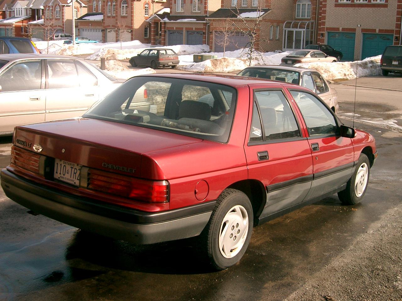 Chevrolet Corsica 1991 foto - 1