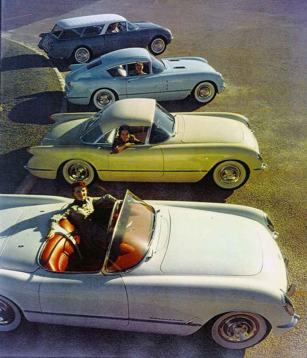 Chevrolet Corvette 1954 foto - 2