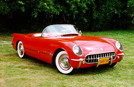 Chevrolet Corvette 1955 foto - 1