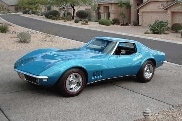 Chevrolet Corvette 1968 foto - 1