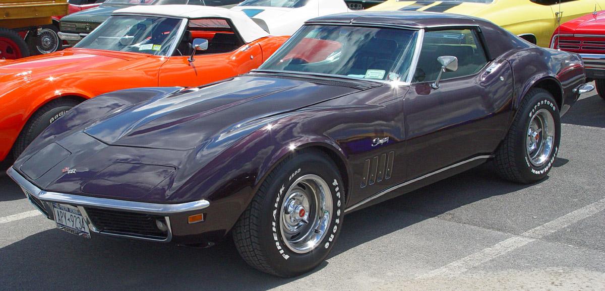 Chevrolet Corvette 1969 foto - 2