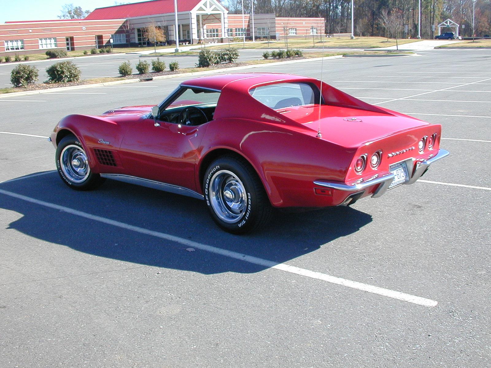 Chevrolet Corvette 1971 foto - 2