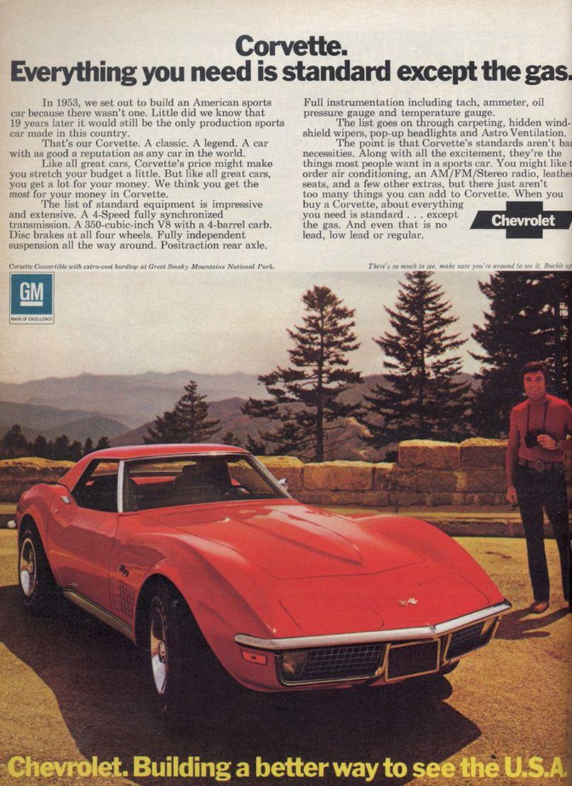 Chevrolet Corvette 1972 foto - 3