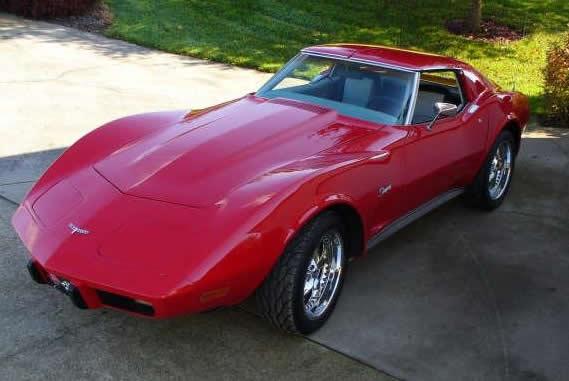 Chevrolet Corvette 1976 foto - 1