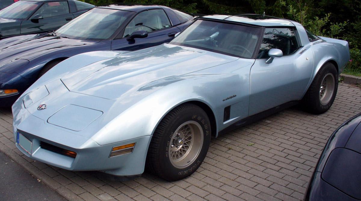 Chevrolet Corvette 1980 foto - 5