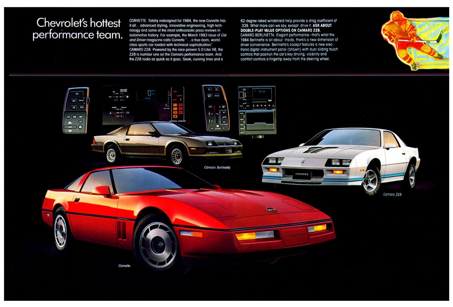 Chevrolet Corvette 1984 foto - 1