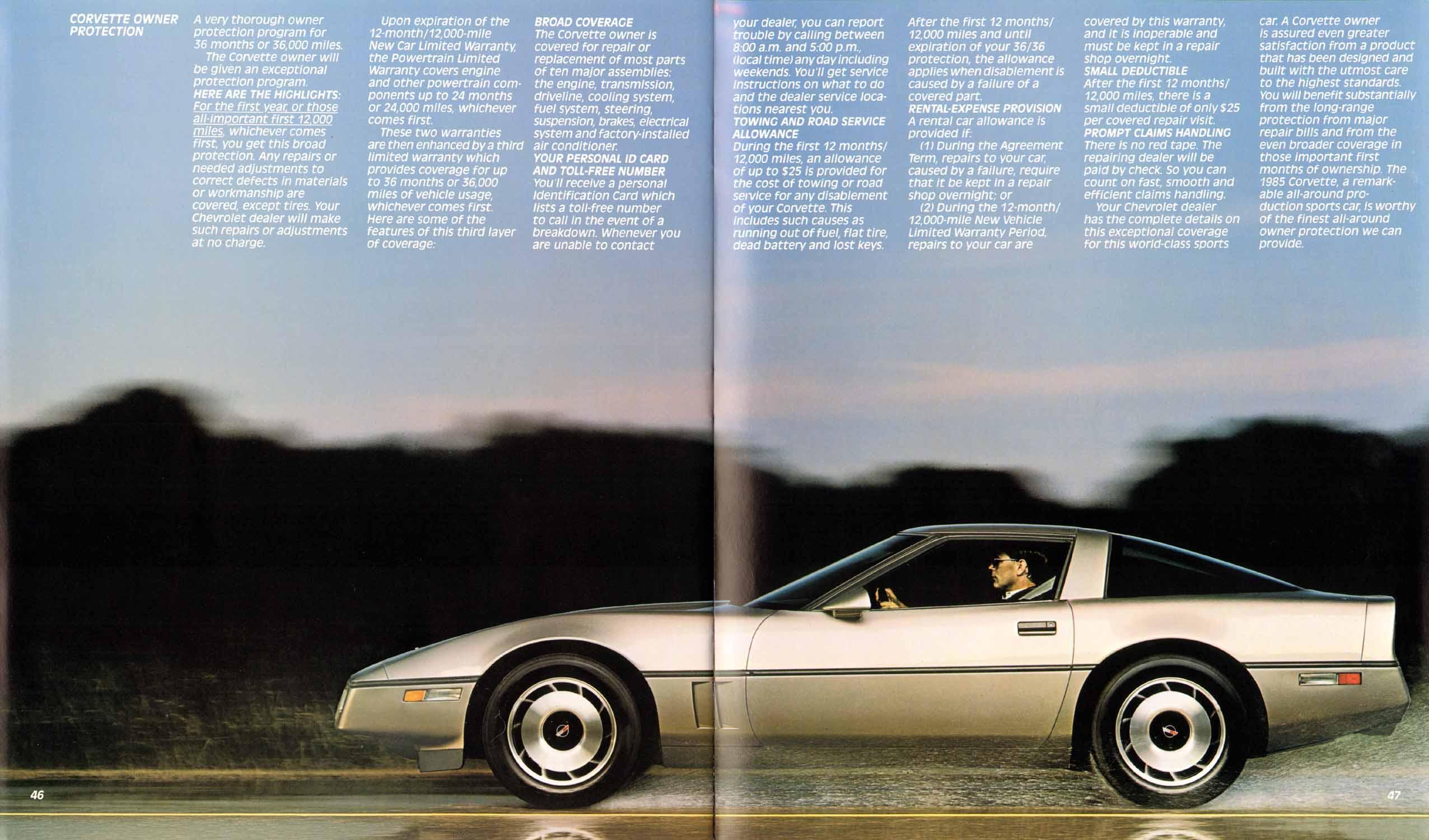 Chevrolet Corvette 1985 foto - 4