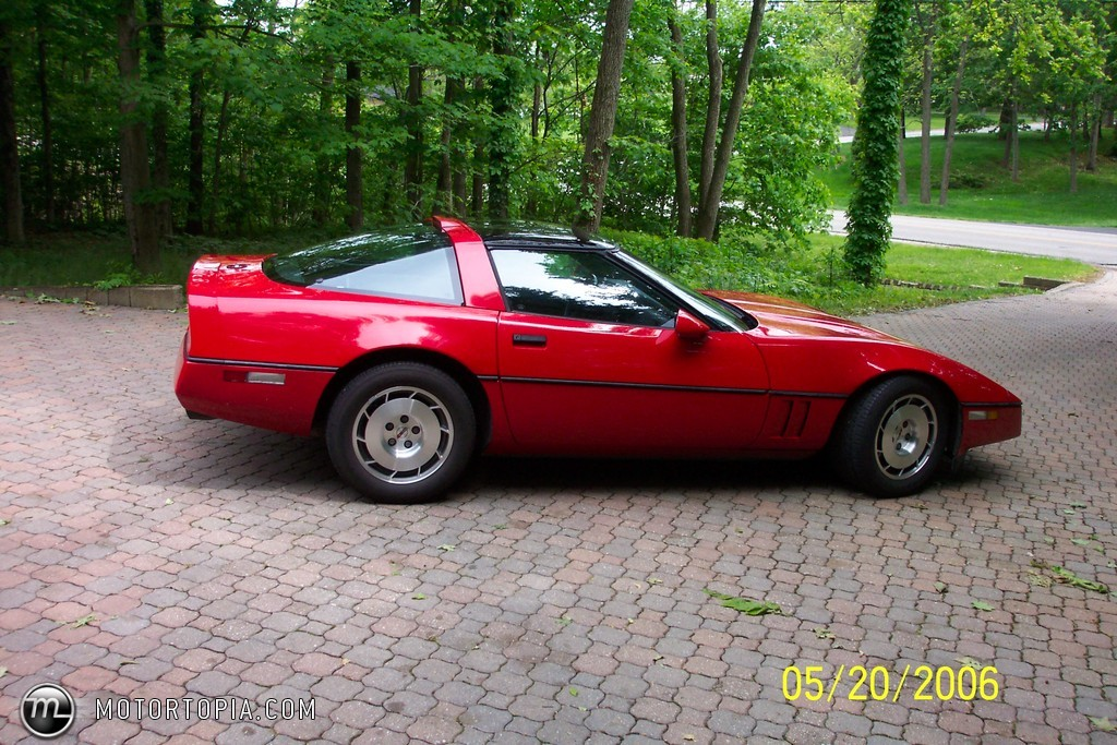 Chevrolet Corvette 1986 foto - 1