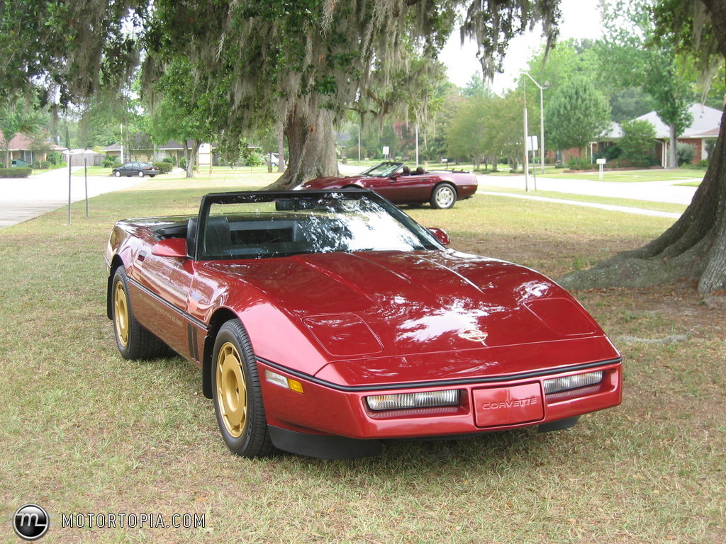 Chevrolet Corvette 1986 foto - 2