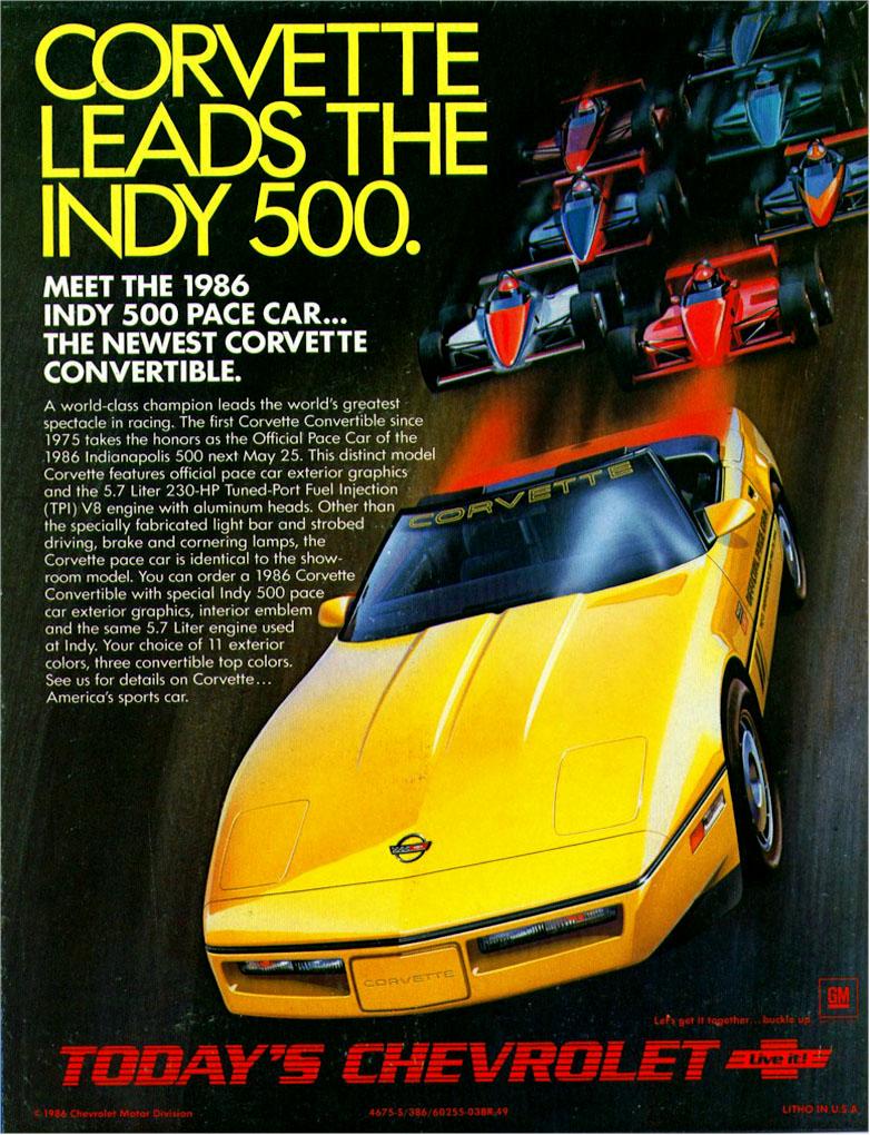Chevrolet Corvette 1986 foto - 3