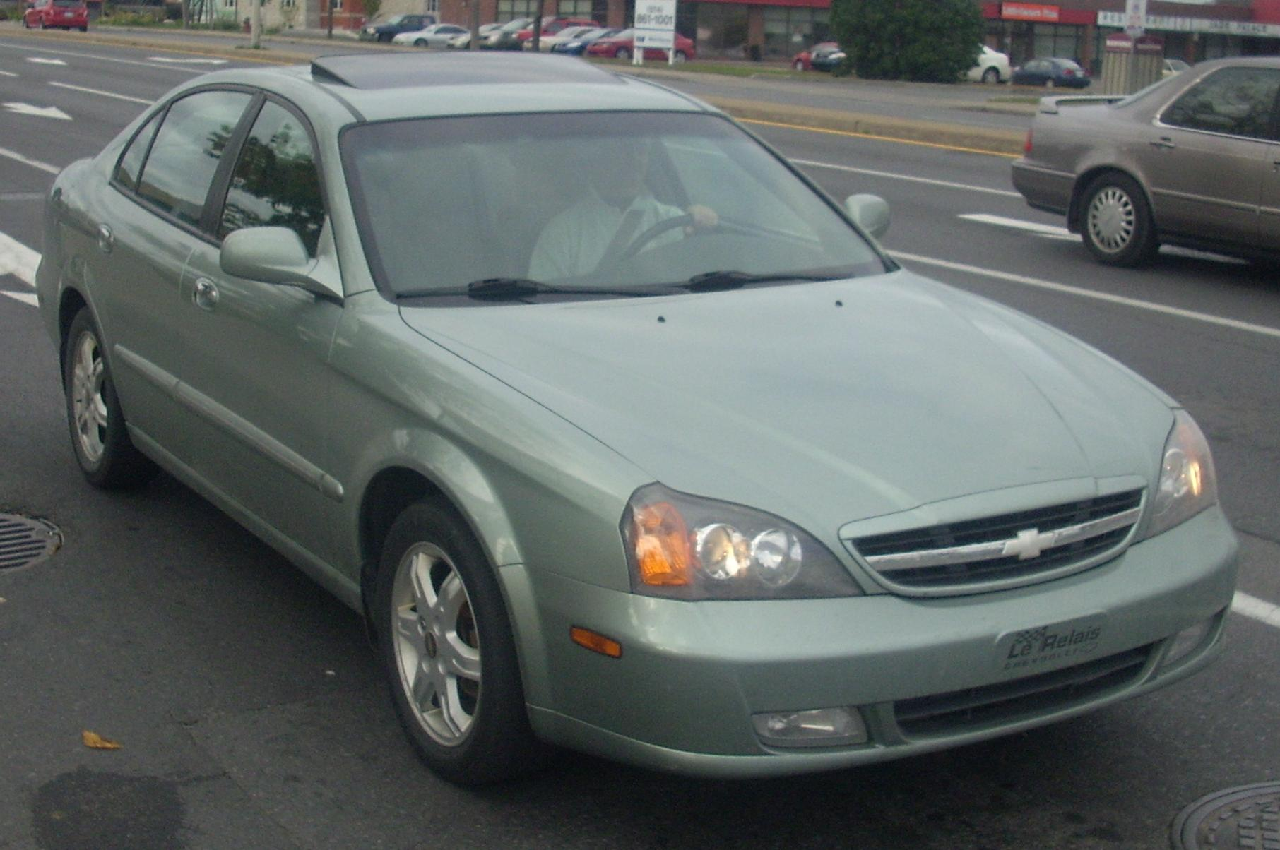 Chevrolet Epica 2004 foto - 1