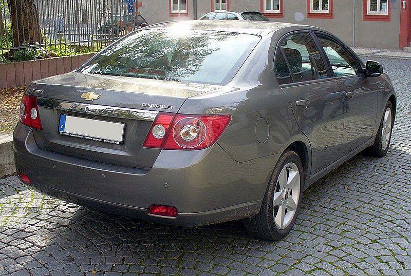 Chevrolet Epica 2004 foto - 3