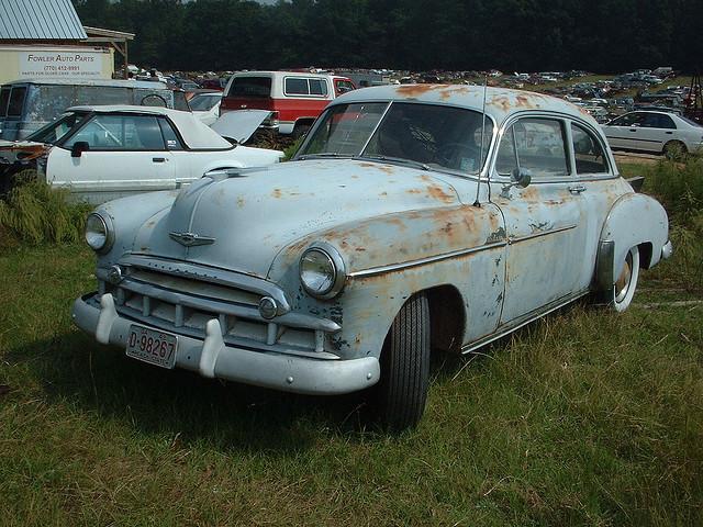 Chevrolet Fleetline 1946 foto - 5