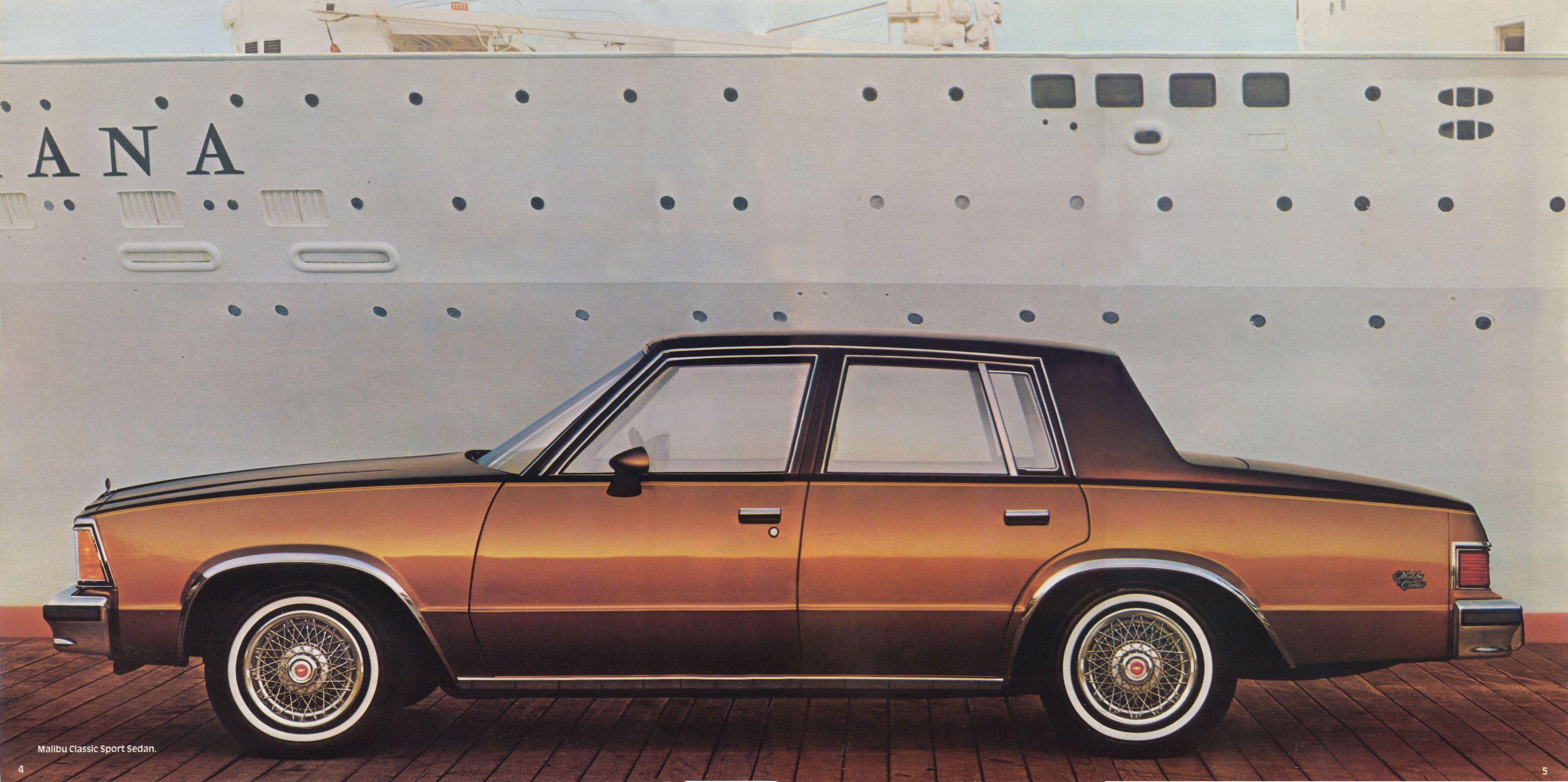Chevrolet Malibu 1981 foto - 1