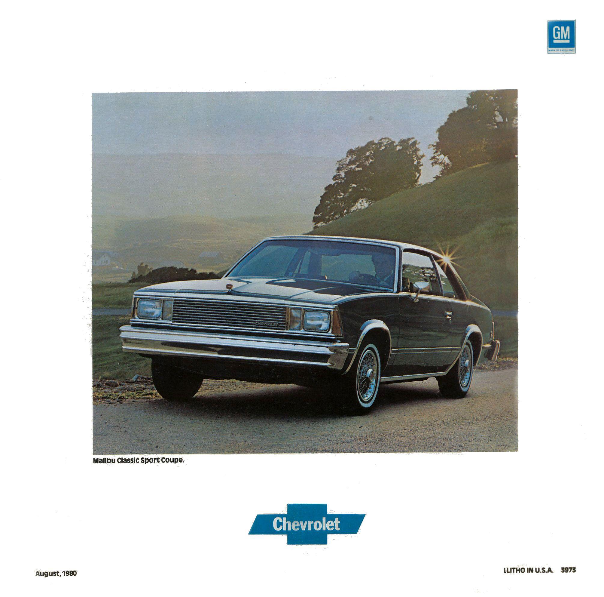Chevrolet Malibu 1981 foto - 2