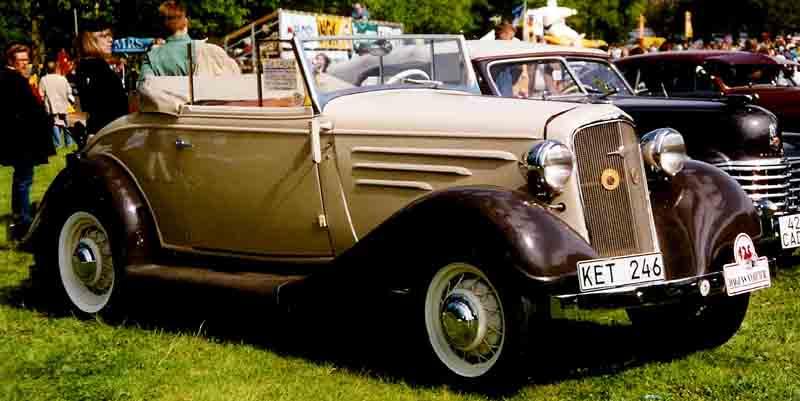 Chevrolet Master 1934 foto - 1