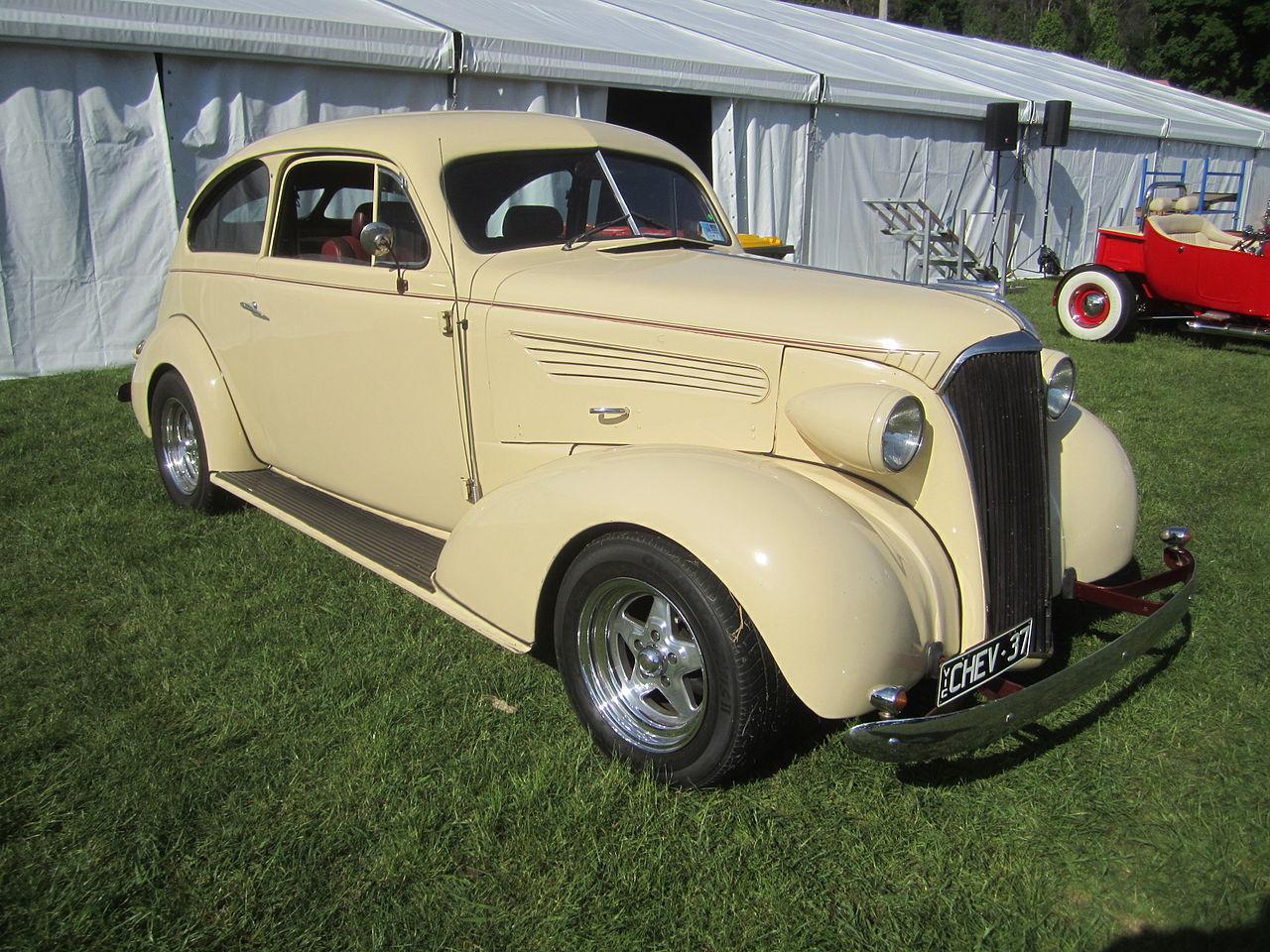 Chevrolet Master 1937 foto - 5
