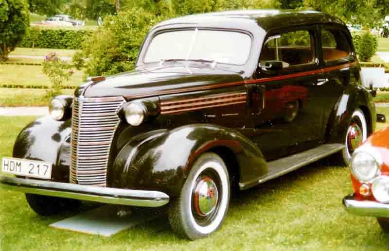 Chevrolet Master 1938 foto - 1