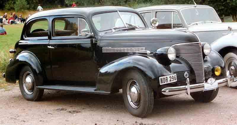 Chevrolet Master 1939 foto - 1