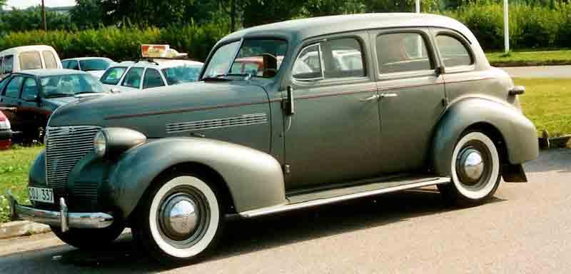 Chevrolet Master 1939 foto - 3