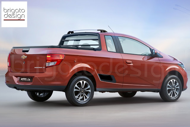Chevrolet Montana 2014 foto - 1