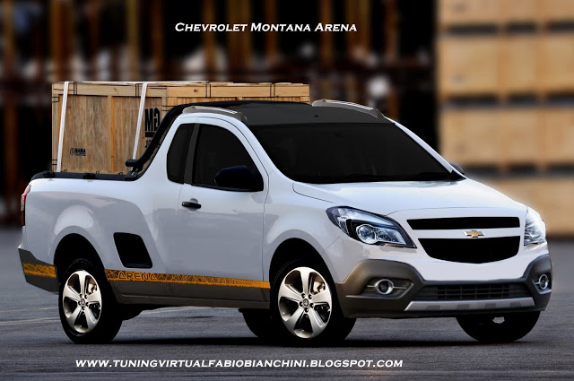 Chevrolet Montana 2014 foto - 3