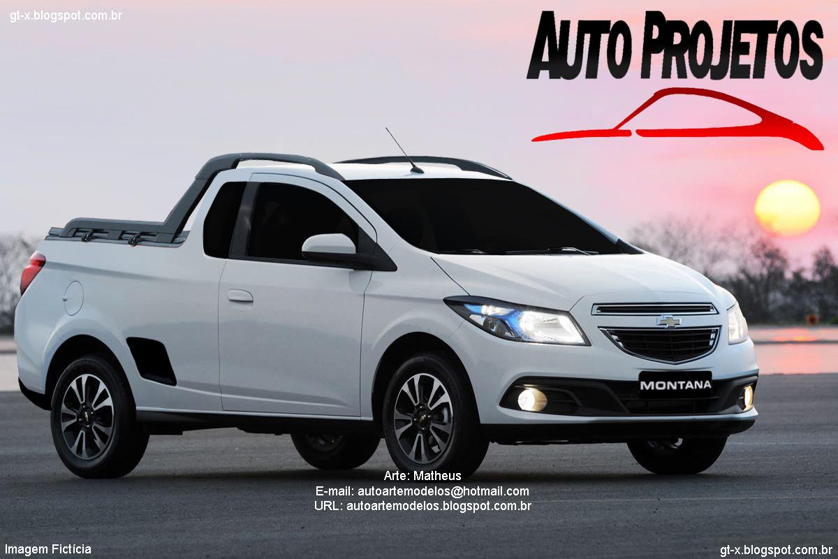 Chevrolet Montana 2015 foto - 2