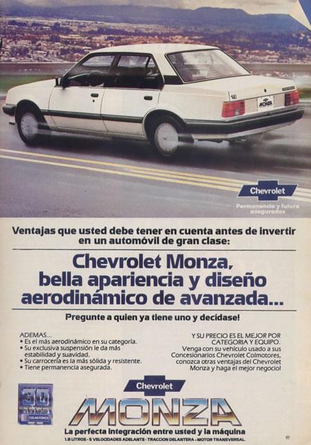 Chevrolet Monza 1986 foto - 1