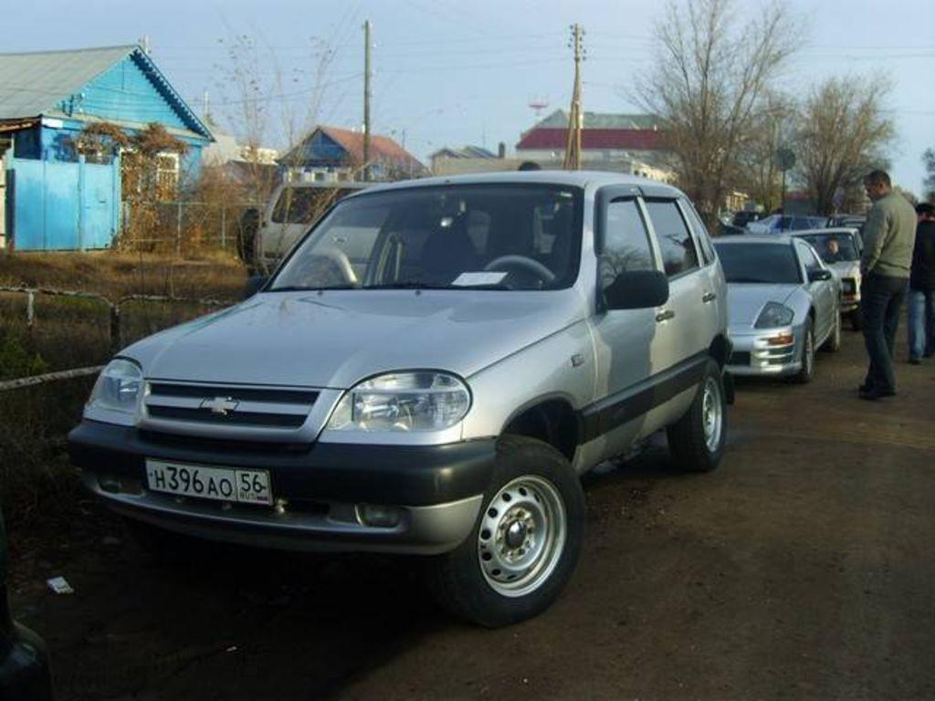 Chevrolet Niva 2005 foto - 1