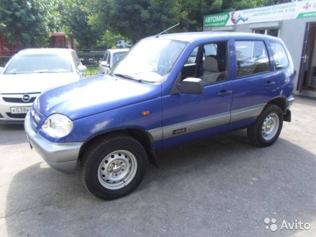 Chevrolet Niva 2006 foto - 1