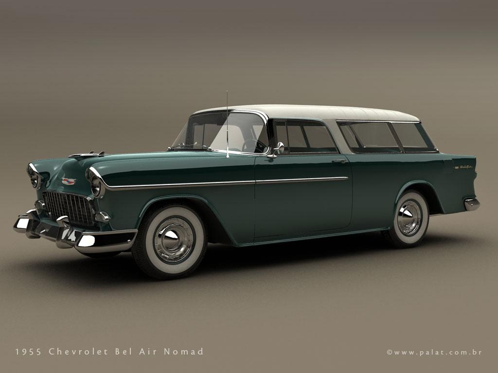 Chevrolet Nomad 1955 foto - 3
