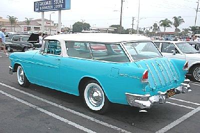 Chevrolet Nomad 1955 foto - 4