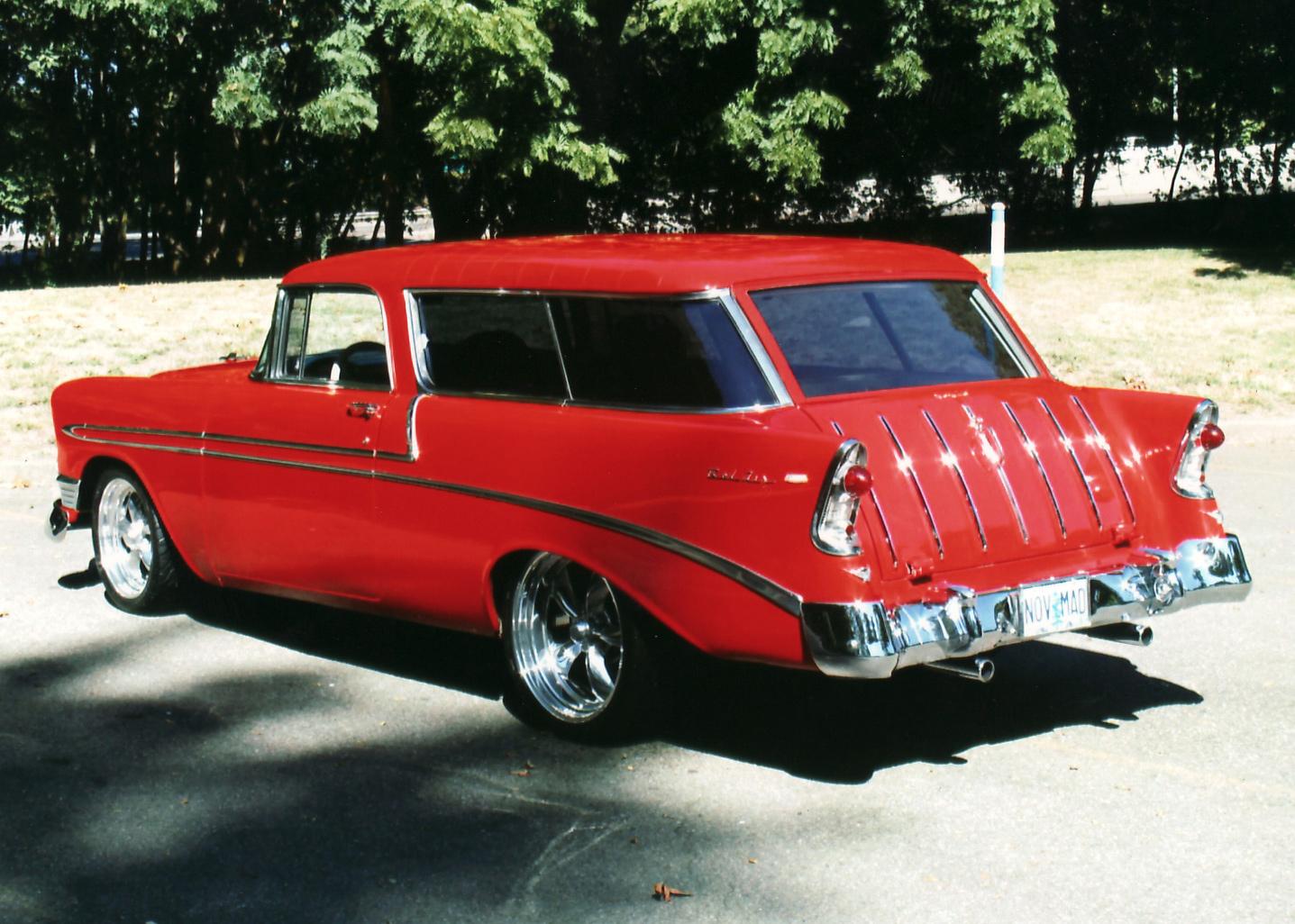Chevrolet Nomad 1956 foto - 1