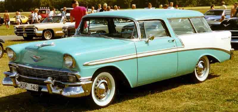 Chevrolet Nomad 1956 foto - 4