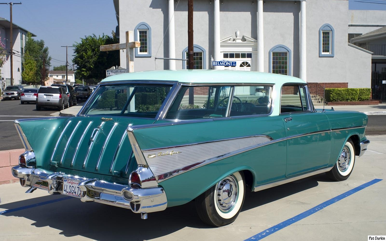 Chevrolet Nomad 1957 foto - 1