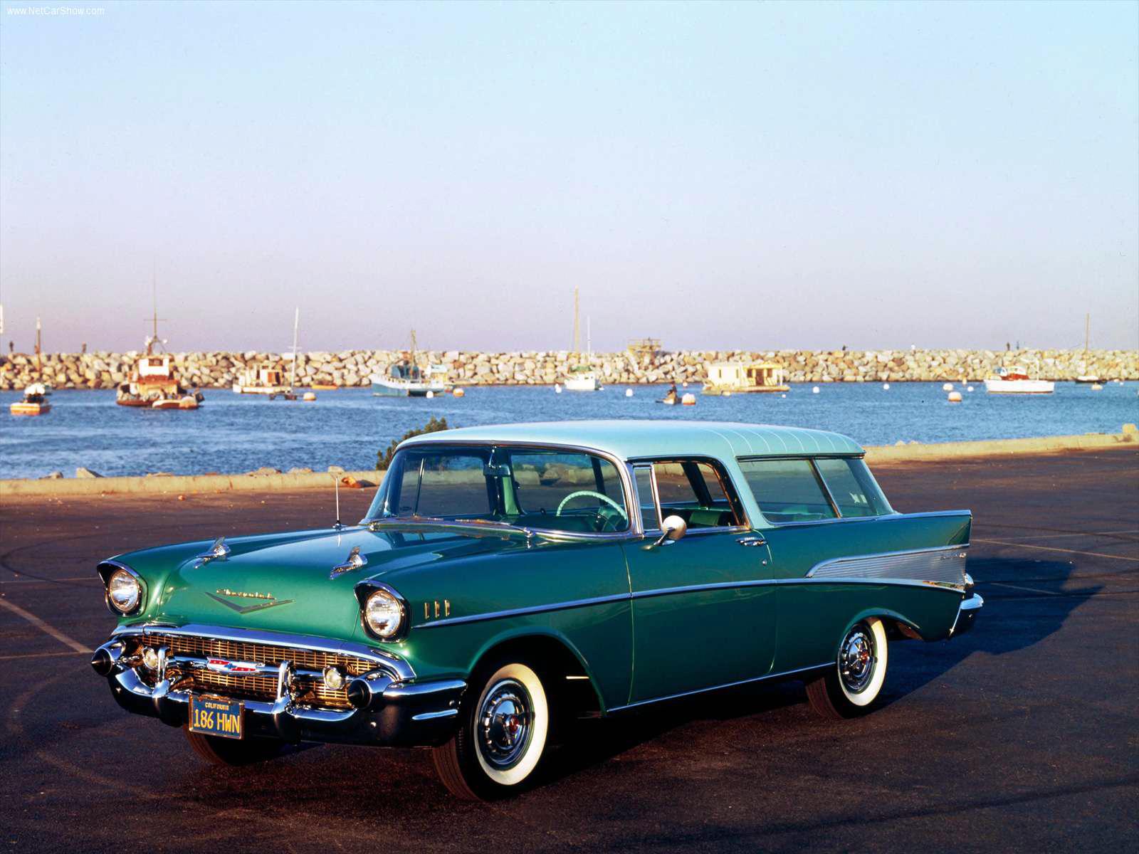 Chevrolet Nomad 1957 foto - 2