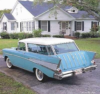 Chevrolet Nomad 1957 foto - 4