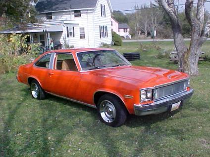 Chevrolet Nova 1977 foto - 1