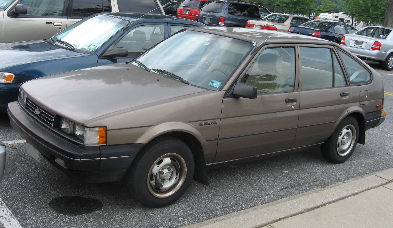 Chevrolet Nova 1986 foto - 1