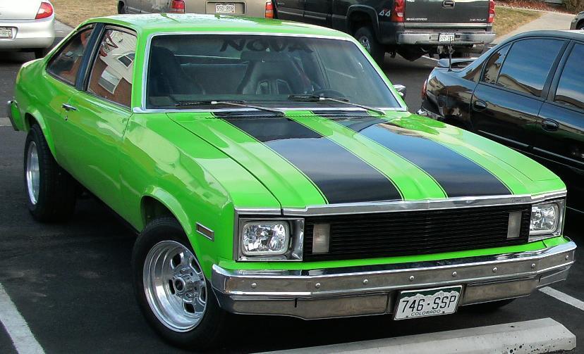 Chevrolet Nova 1987 foto - 1