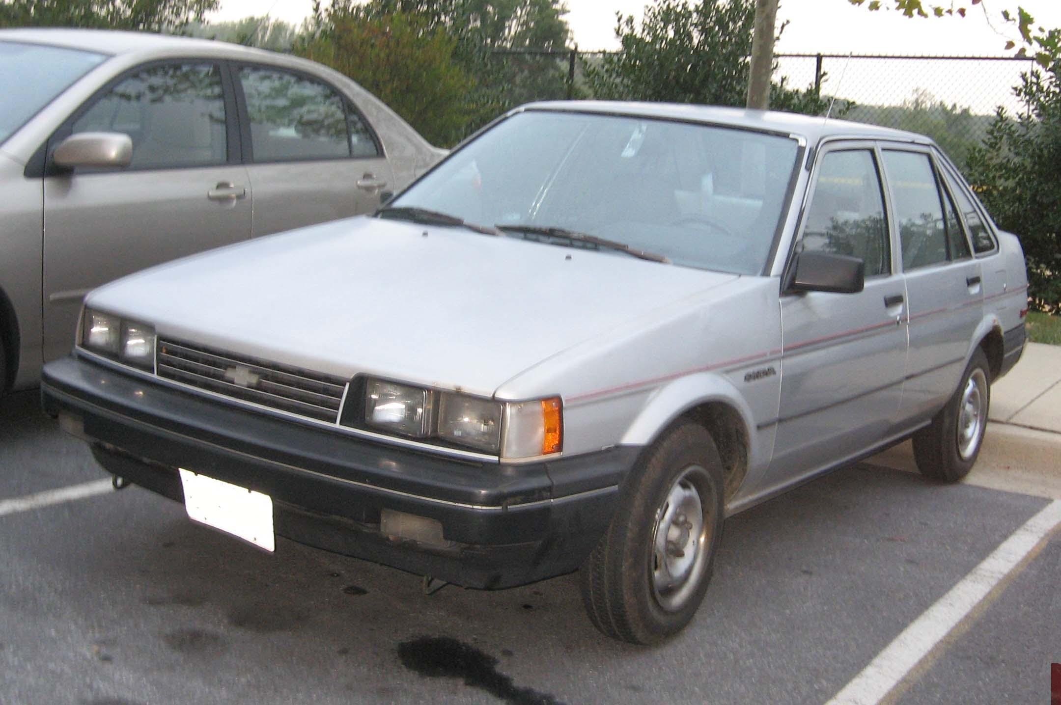 Chevrolet Nova 1988 foto - 1