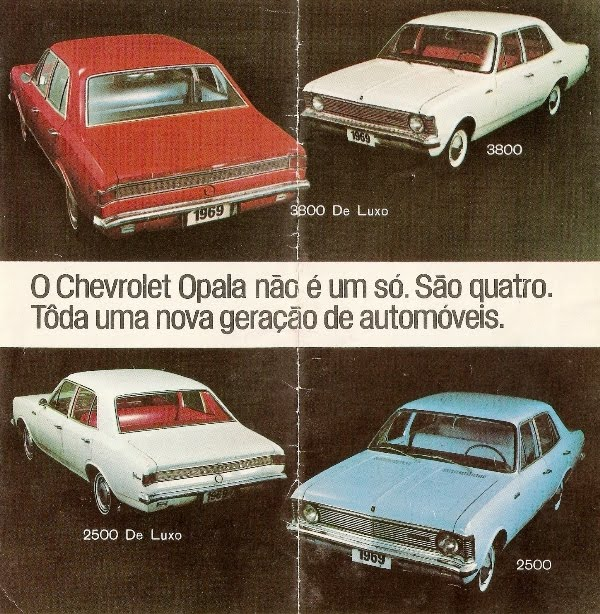 Chevrolet Opala 1969 foto - 4