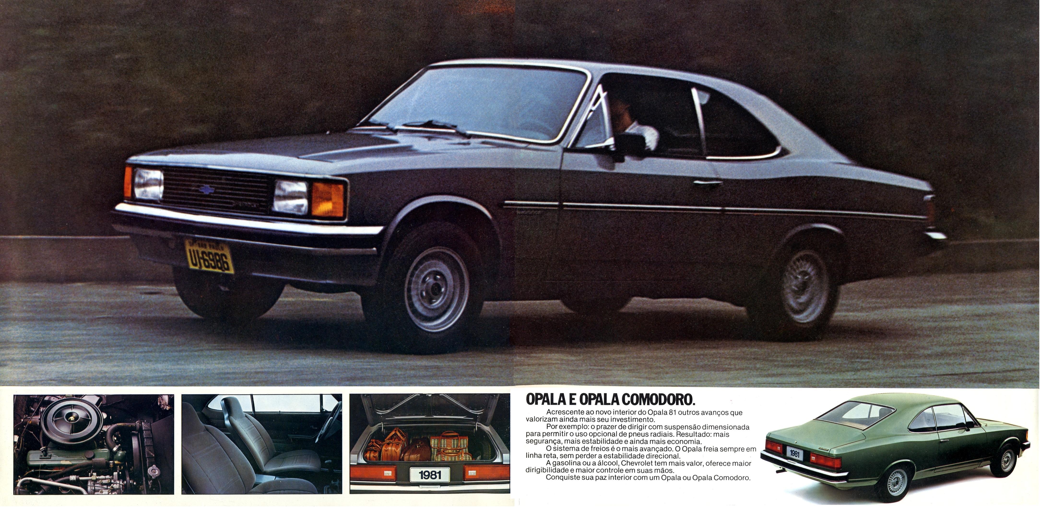 Chevrolet Opala 1980 foto - 1