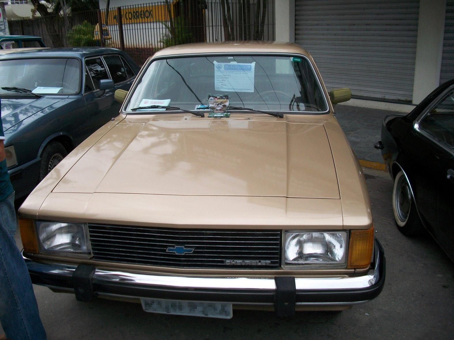 Chevrolet Opala 1980 foto - 3