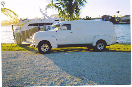 Chevrolet Panel 1950 foto - 1