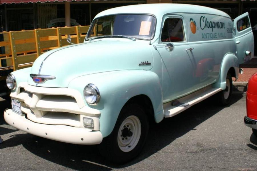 Chevrolet Panel 1954 foto - 1