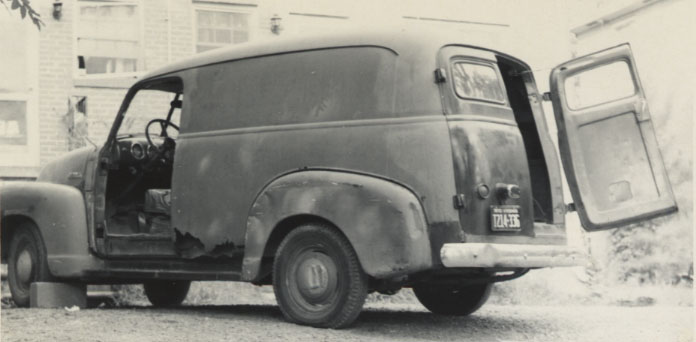 Chevrolet Panel 1954 foto - 5